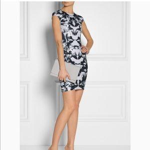 Alexander McQueen Mirrored Hummingbird dress